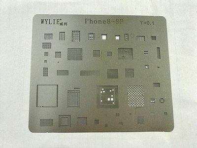 Kit De Stencil Reballing Bga Iphone 10 Peças
