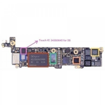 IC Touch Iphone 5S 5C U2402 343S0645