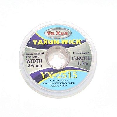 Malha Dessoldadora Yaxun YX 2515 2.5mm 150cm