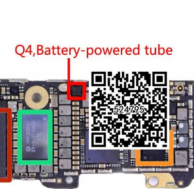 IC Power USB Q4 68815 Iphone 5S 9P