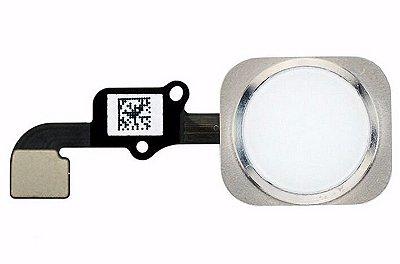 Botão Home Iphone 6G Branco Com Flex