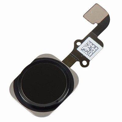 BOTÃO HOME iPHONE 6G (4.7) PRETO - COM FLEX