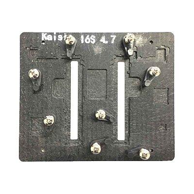 Suporte de placa para soldagem kaisi iphone 6s 4.7