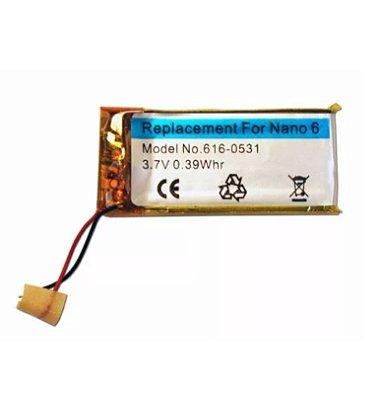 Bateria Apple Ipod Nano 6 Modelo 616 0531 8Gb 16Gb