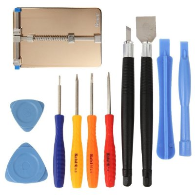 Suporte de Placa para soldagem PCB Kaisi 1210 com kit de ferramentas