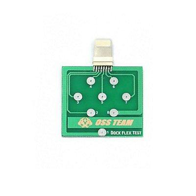 Placa De Teste Micro Dock Flex Teste De Bateria Iphone U2