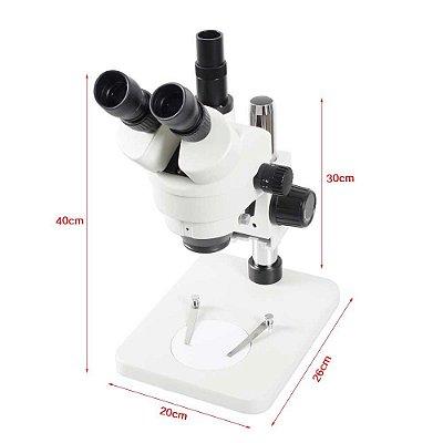 Microscópio Trinocular 7 45X Camera VGA