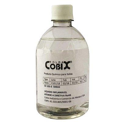 Fluxo de Solda Liquido Cobix CX101 500 ml