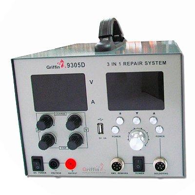 Estação de Solda Digital 5A Griffin 9305D 220v