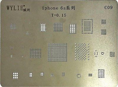 Stencil Wylie Para Reballing E Bga Iphone 6S
