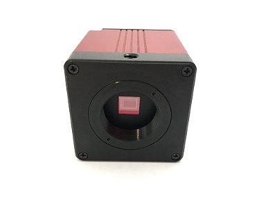 Camera Hdmi e Vga Para Microscópio Trinocular Ruishikeni