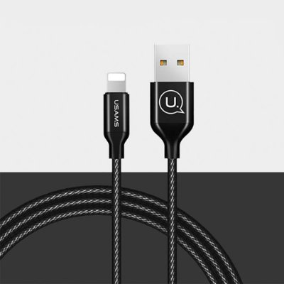 Cabo 2x1 Micro USB e Lightning iPhone Preto
