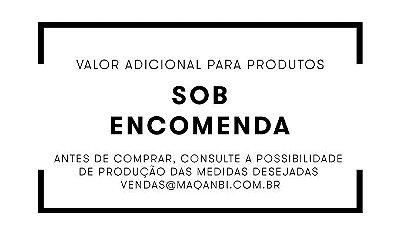 Taxa extra para confecção de produto sob encomenda