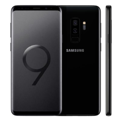 Smartphone Samsung Galaxy S9 Plus Preto, Entrada de R$290,00 + 10x de R$161,00