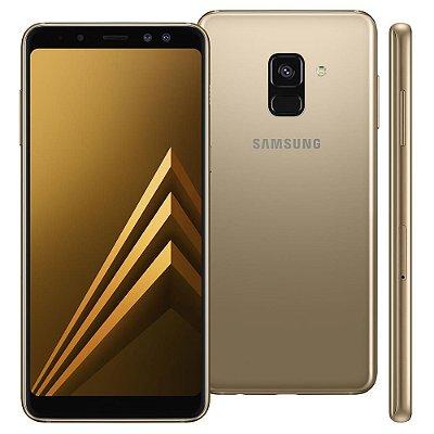 Smartphone Samsung Galaxy A8 Dual Chip, Entrada de R$220,00 + 10x de R$128,00