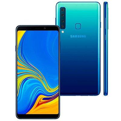Smartphone Samsung Galaxy A9 Azul 128GB, Entrada de R$250,00 + 10x de R$145,00