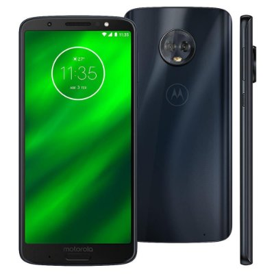 Smartphone Motorola Moto G6 Plus XT1926 Dual Chip, Entrada de R$200,00 + 10x de R$95,00