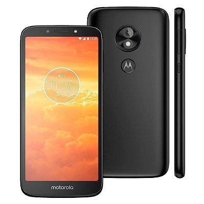 Smartphone Motorola Moto E5 Play Preto 16GB, Entrada de R$150,00 + 10x de R$45,00 Total R$600,00