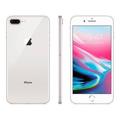 Smartphone Apple iPhone 8 Plus 128GB Entrada de R$280,00 + 10x de R$222,00 Total R$2.500,00