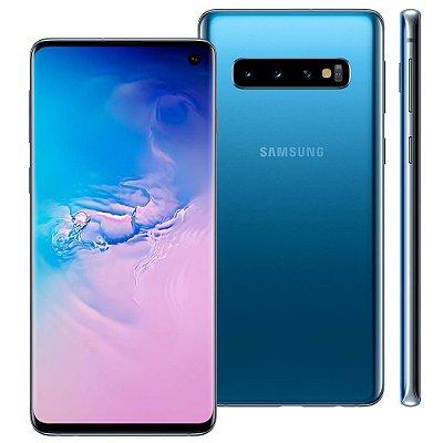 Smartphone Samsung Galaxy S10 128GB Entrada de R$300,00 + 12x de R$250,00 Total R$3.300,00