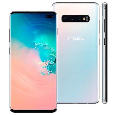 Smartphone Samsung Galaxy S10+ 128GB Entrada de R$350,00 + 12x de R$262,50 Total R$3.500,00