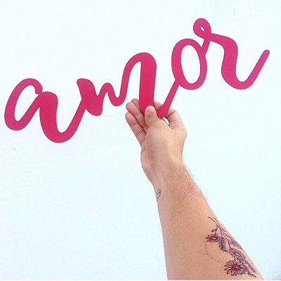 """Lettering """"amor"""""""