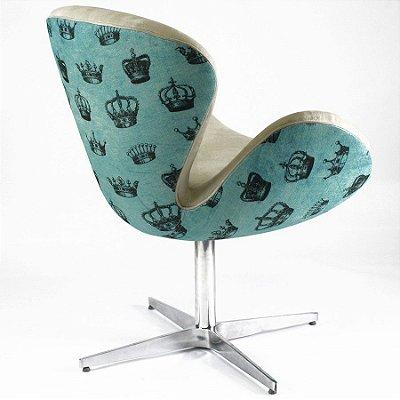 Cadeira Swan Royale Blue