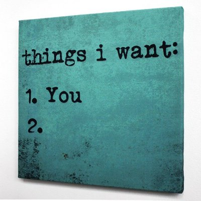 Tela  Things I Want