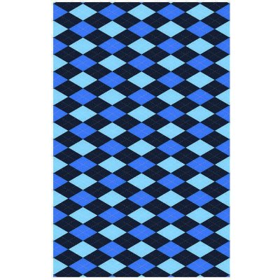 Tapete Losango Blue