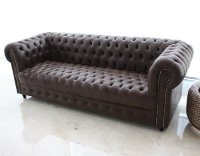 Sofá Chesterfield Brown 3