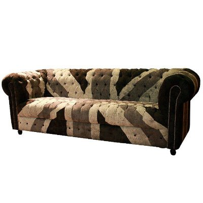 Sofá Chesterfield Uk Black 3