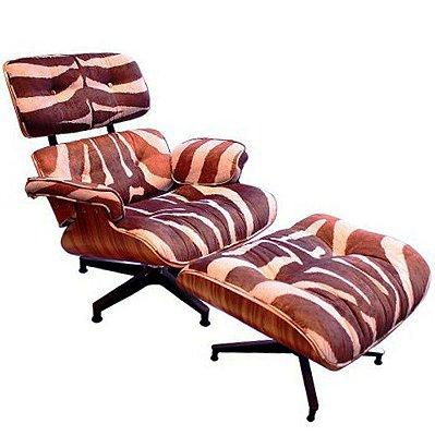 Poltrona Eames Lounge Zebra