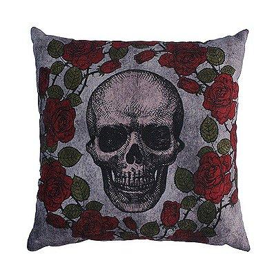 Almofada 45 Skull Roses