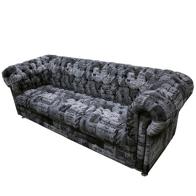 "Sofa Chesterfield Tickets Pb3 ""Super Star"""