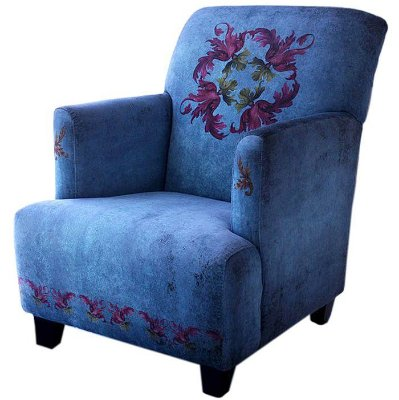 Poltrona Berger Barroco Blue