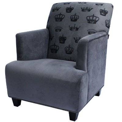 Poltrona Berger Royale Gray