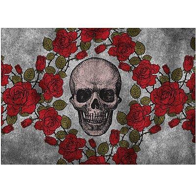 Jogo Americano Skull Roses