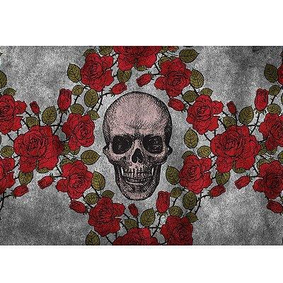 Capacho Skull Roses