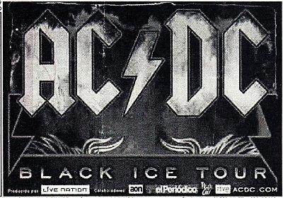 Jogo Americano ACDC Ticket - 02 Peças