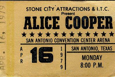 Jogo Americano Alice Cooper