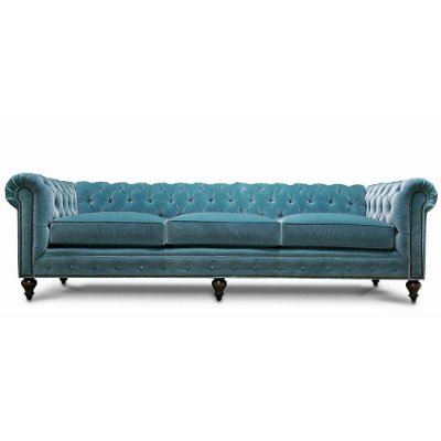 Sofá Chesterfield Blue