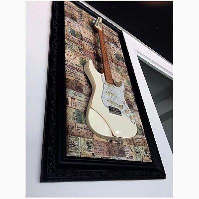 Quadro Guitar Frame White