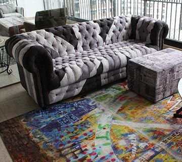 Sofa Chesterfield UK PB 2m