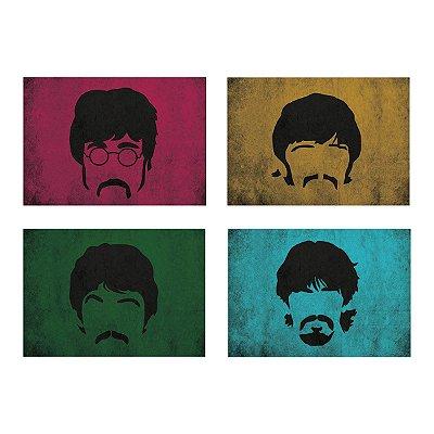 Jogo Americano Beatles - 04 Peças