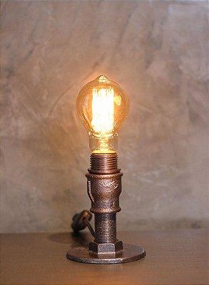 Luminária Vela peq. c/ lamp.