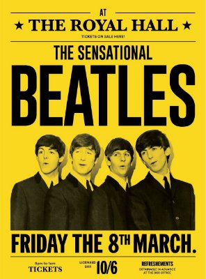 Adesivo Beatles