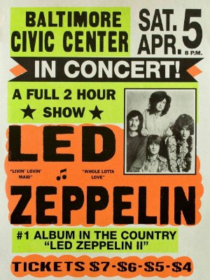 Adesivo Led Zeppelin