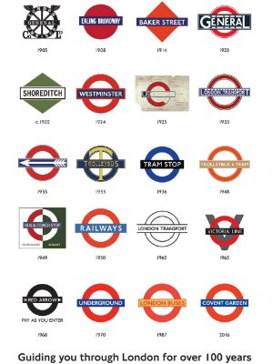 Adesivo London Guide 100 years