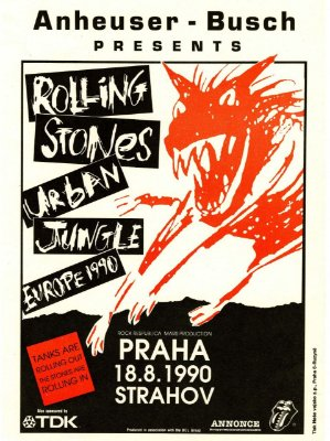 Adesivo Rolling Stones Urban Jungle
