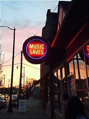 Adesivo Music Saves